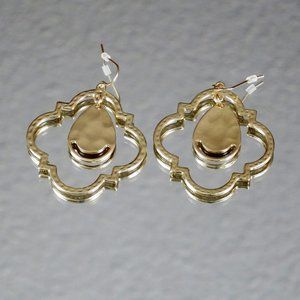 Gorgeous Gold Tone Earrings NWOT